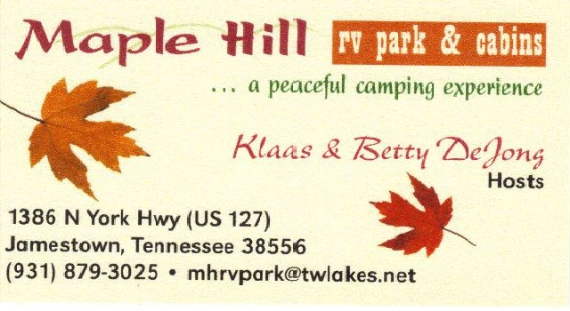 Maple Hill RV Camp logo